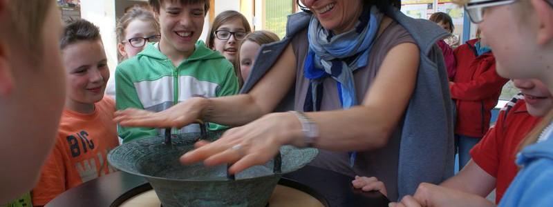 Grundschule Muehlwald Lehrausflug Museum Magie des Wassers Muehlwald 2014